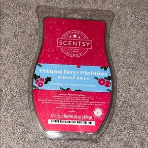 NEW Scentsy BRICK Crimson Berry Christmas retired